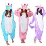 Pijamas con dibujos de unicornio