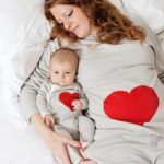 Pijamas para bebe y mama