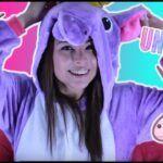 Pijama de unicornio tutorial