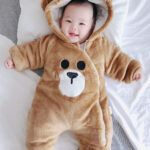 Pijama urso bebe